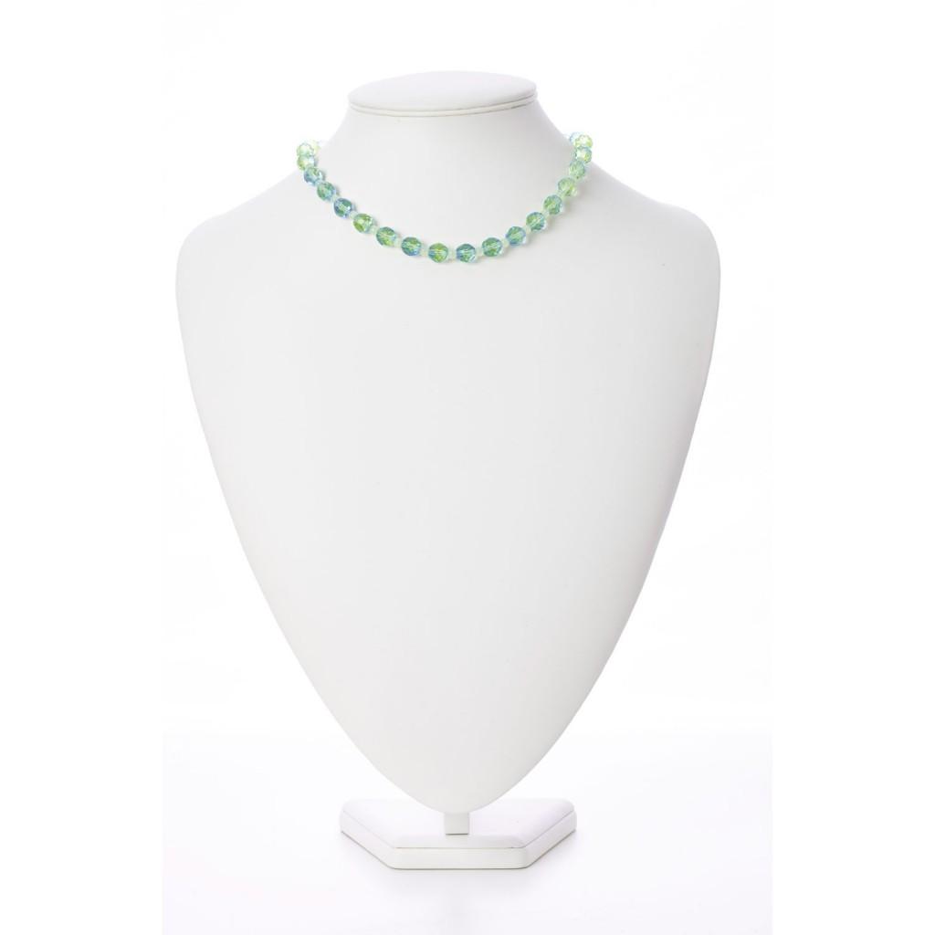 vaseline glass necklace