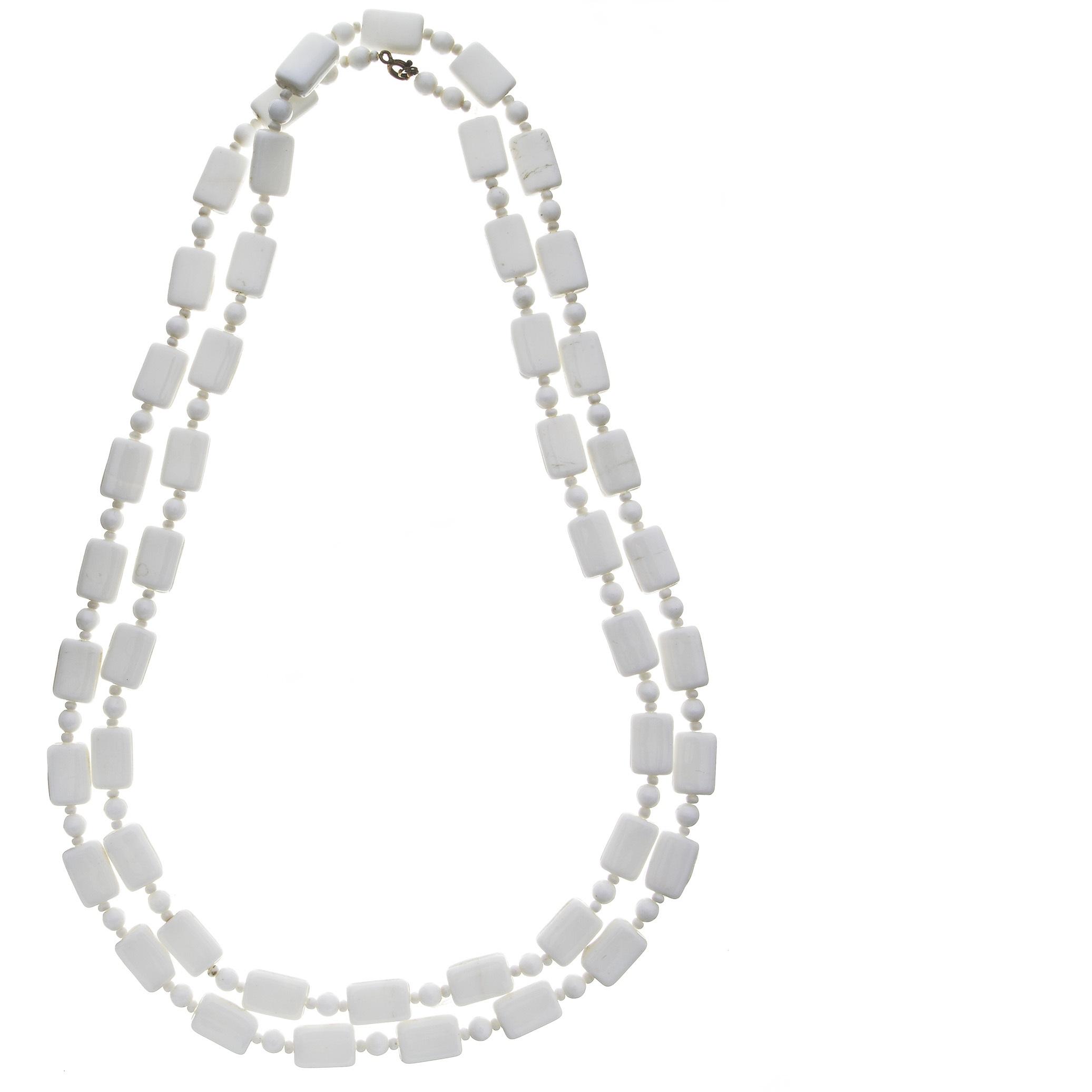 Vintage White Necklaces