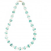 milk glass necklace