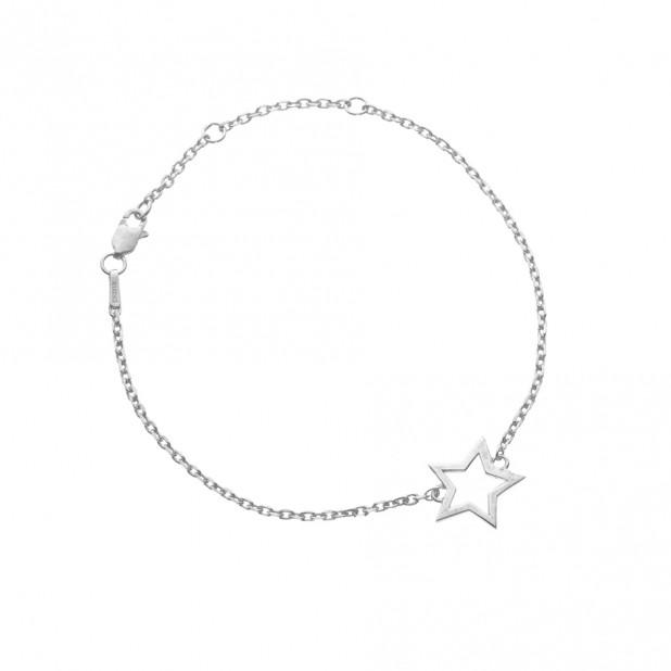 silver star bracelet chavin