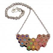 colour palette necklace