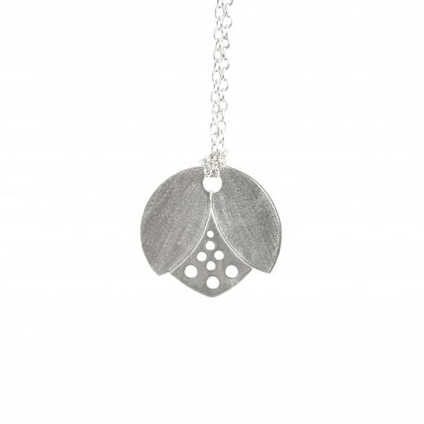 lotus bud pendant