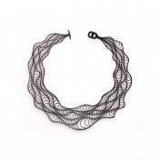 caipora waves rubber necklace jewellery